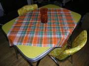 Funky Retro Dining Table and Chairs