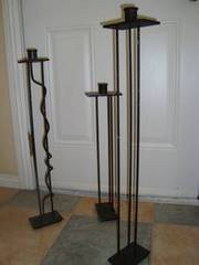 Wrought-Iron Freestanding Candlebrum