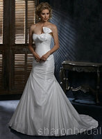 Discount designer Maggie Sottero Jillian wedding dress