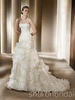 USD 373.00 Pronovias wedding dres style  Alga