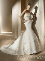 How Much Is  Pronovias Trapecio wedding dress