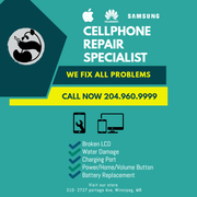 NEW! BEST PRICE!!!- Cellphone Screen Repair with 1 year Warranty